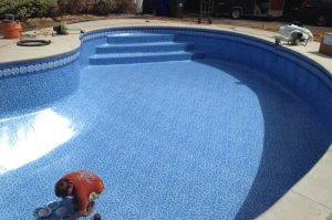 pool liner replacement
